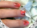 Orange with green nail art.jpg
