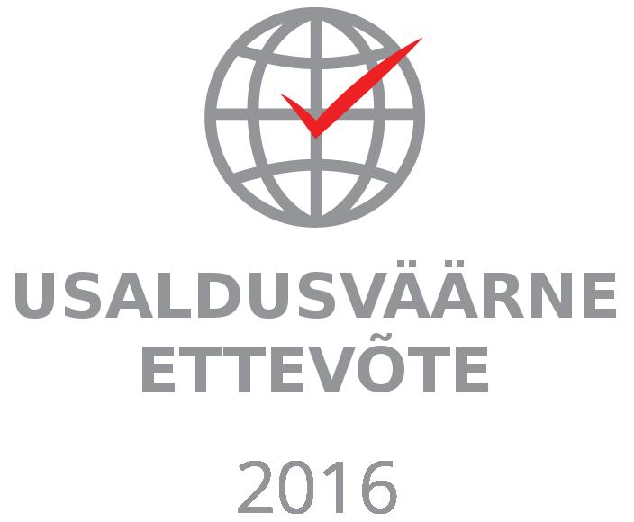 usaldusväärne ettev logo